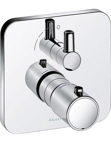 Kludi termostata jaucējkrāns dušai E2 498350575 - 1