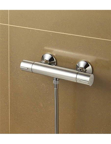 Jacob Delafon termostata jaucējkrāns dušai July E8455-CP - 3