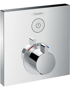Hansgrohe Thermostatic Shower Mixer ShowerSelect 15762000 - 1