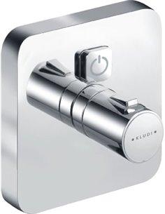 Kludi Thermostatic Shower Mixer Push 388010538 - 1