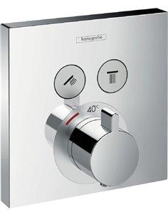 Hansgrohe termostata jaucējkrāns dušai ShowerSelect 15763000 - 1
