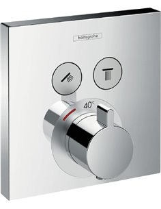 Hansgrohe Thermostatic Shower Mixer ShowerSelect 15763000 - 1