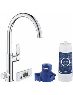 Grohe Kitchen Water Mixer Blue Pure Eurosmart 30383000 - 1