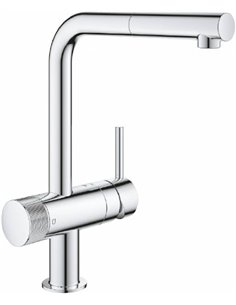 Grohe Kitchen Water Mixer Blue Pure Minta 31721000 - 1