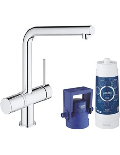 Grohe virtuves jaucējkrāns Blue Minta New Pure 31345002 - 1