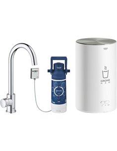 Смеситель Grohe Red II Mono 30085001 для кухонной мойки, с водонагревателем
