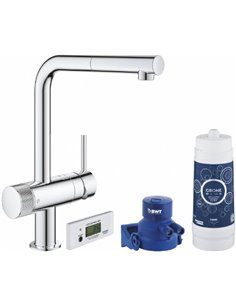 Grohe Kitchen Water Mixer Blue Pure Minta 30382000 - 1