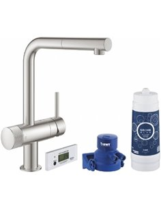 Grohe Kitchen Water Mixer Blue Pure Minta 30382DC0 - 1