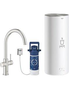 Смеситель Grohe Red II Duo 30079DC1 для кухонной мойки, с водонагревателем