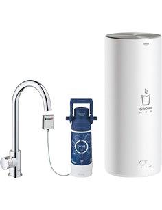 Смеситель Grohe Red II Mono 30080001 для кухонной мойки, с водонагревателем