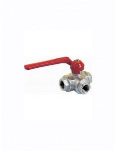 Ball valve, 3-ways, 7620 - 1