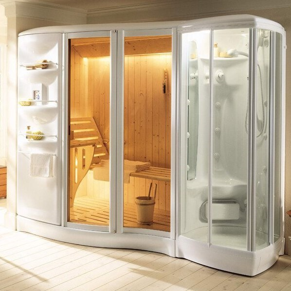 Shower steam cabins