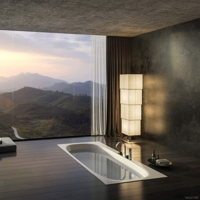 Iebūbvējāmas vannas